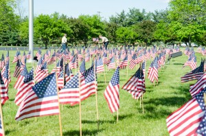 Memorial Day Flags-168