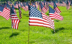 Memorial Day Flags-177